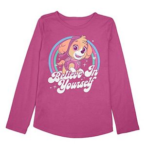 """Toddler Girl Jumping Beans® Paw Patrol Skye """"Believe In Yourself"""" Graphic Top"""