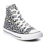 Women's Converse Chuck Taylor All Star Leopard Print High Top Sneakers