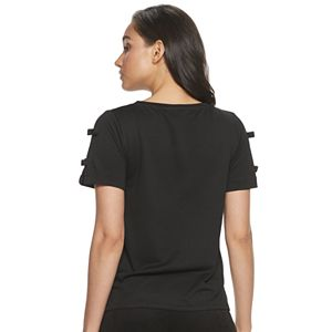 Women's ELLE? Bow Sleeve Top