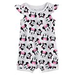 Disney's Minnie Mouse Baby Girl Toss Print Flutter Romper by Jumping Beans®