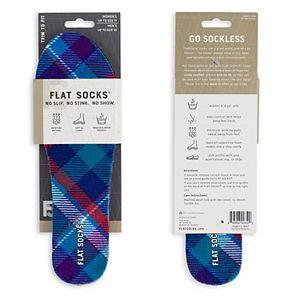 Women's Flat Socks Printed Shoe Liner