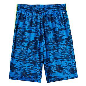 Boys 4-20 Tek Gear DryTek Printed Shorts in Regular & Husky