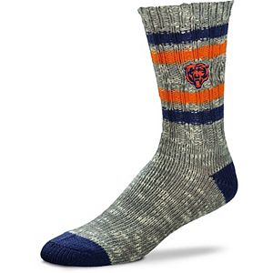 Women's For Bare Feet Chicago Bears Alpine Tweed Crew Socks