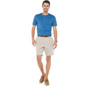 Men's Croft & Barrow® Classic-Fit Extra Soft Easy-Care Henley in Regular and Slim Fit
