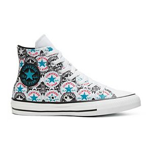 Women's Converse Chuck Taylor All Star License Plate High Top Shoes