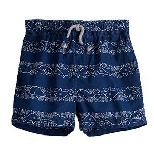 Baby Boy Jumping Beans® Print Woven Shorts