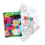 DreamWorks Trolls World Tour Coloring & Activity Pad with Markers by Crayola