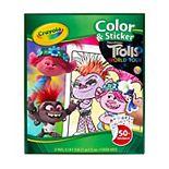 DreamWorks Trolls World Tour Color & Sticker Activity by Crayola