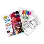DreamWorks Trolls World Tour Color Wonder Coloring Pad & Markers by Crayola