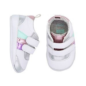 Baby Girl Carter's Metallic Crib Shoes