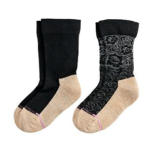 Women's Dr. Motion Super Comfort Crew Socks