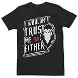 Men's Disney Villains Valentines Scar I Wouldn't Trust Me Either Tee