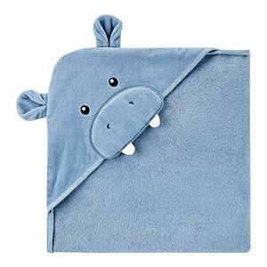 Baby Boy Carter's Hippo Hooded Towel