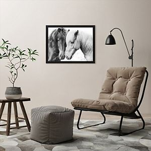 Americanflat Horse Love Wall Art by Sisi and Seb