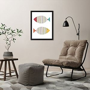 Americanflat Fish Two Wall Art by Lisa Nohren