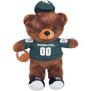 Michigan State Spartans Locker Room Buddy Dress Me Plush Bear Kit