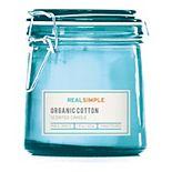 Real Simple Organic Cotton 7-oz. Candle Jar