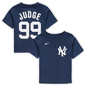 Infant Nike Aaron Judge Navy New York Yankees Player Name & Number T-Shirt