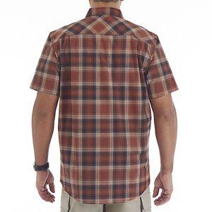 Men's Smith's Workwear Plaid Stretch Button-Down Shirt