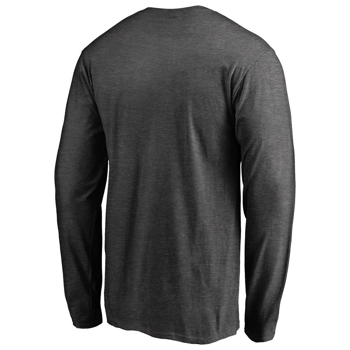 Men's Fanatics Branded Gray Montreal Canadiens Victory Arch Long Sleeve T-Shirt dHvve